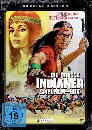 Die grosse Indianer Spielfilm-Box (Special Edition, 6 DVDs)