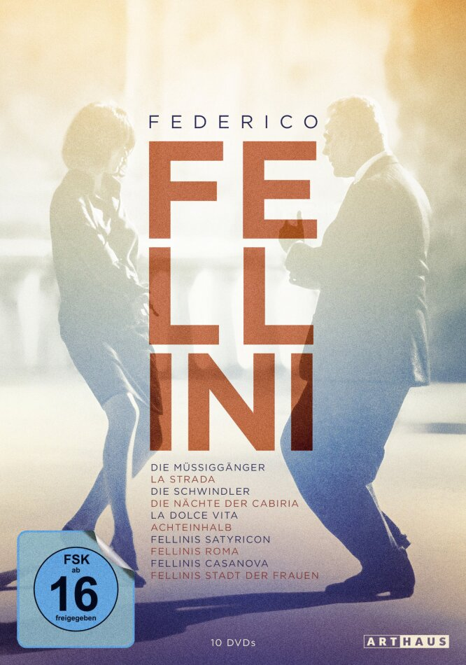 Federico Fellini Edition (Arthaus, 10 DVDs)