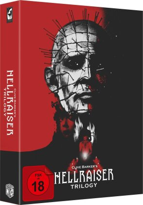 Hellraiser Trilogy (Digipack, Collector's Edition, Uncut, 4 Blu-rays + DVD)