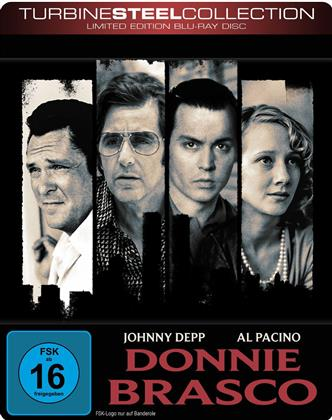 Donnie Brasco (1997) (Turbine Steel Collection, Limited Edition, Steelbook)