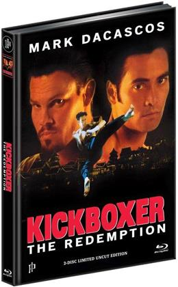 Kickboxer 5 - The Redemption (1995) (Cover A, Limited Edition, Mediabook, Uncut, Blu-ray + DVD)