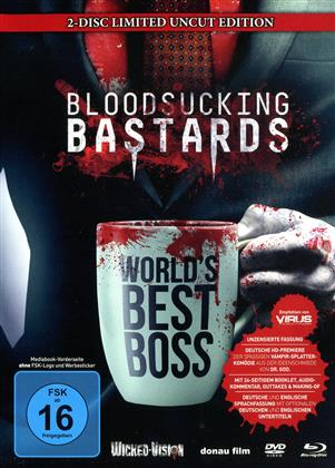 Bloodsucking Bastards (2015) (Cover A, Limited Edition, Mediabook, Uncut, Blu-ray + DVD)
