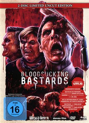 Bloodsucking Bastards (2015) (Cover B, Limited Edition, Mediabook, Uncut, Blu-ray + DVD)