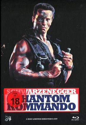 Phantom Kommando (1985) (Cover A, Collector's Edition, Director's Cut, Limited Edition, Mediabook, Blu-ray + DVD)