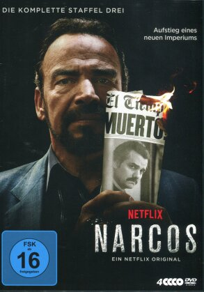Narcos - Staffel 3 (4 DVDs)