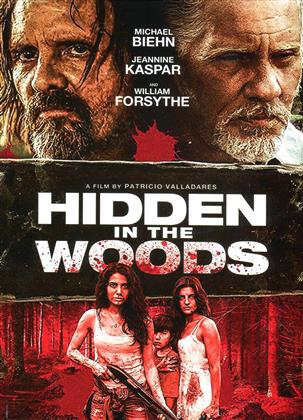 Hidden in the Woods (2014) (Cover A, Collector's Edition, Director's Cut, Limited Edition, Mediabook, Uncut, Blu-ray + 2 DVDs)