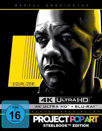 The Equalizer (2014) (Limited Edition, Steelbook, 4K Ultra HD + Blu-ray)