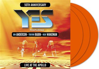 Yes, Rick Wakeman, Jon Anderson & Trevor Rabin - Live At The Apollo (Colored, 3 LPs)
