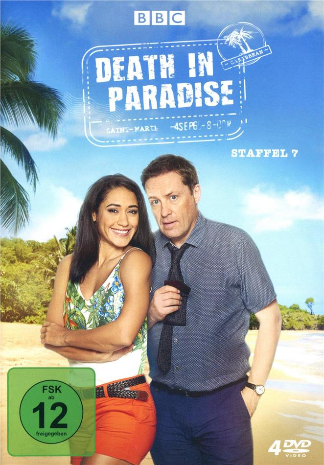 Death in Paradise - Staffel 7 (BBC, 4 DVDs)