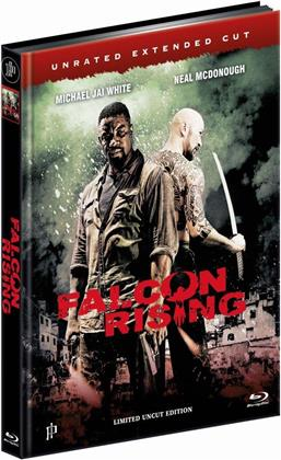 Falcon Rising (2014) (Cover B, Extended Edition, Limited Edition, Mediabook, Uncut, Unrated)