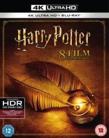Harry Potter 1-7 - 8-Film Collection (8 4K Ultra HDs + 8 Blu-rays)