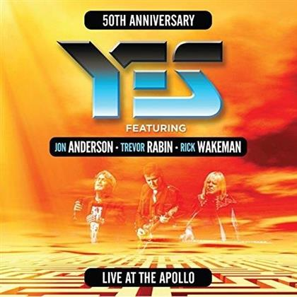 Yes, Rick Wakeman, Jon Anderson & Trevor Rabin - Live At The Apollo 17 (2 CDs)