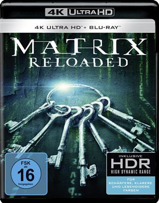 Matrix Reloaded (2003) (4K Ultra HD + Blu-ray)