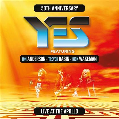 Yes, Rick Wakeman, Jon Anderson & Trevor Rabin - Live At The Apollo (50th Anniversary Edition, 3 LPs)