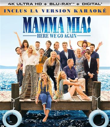 Mamma Mia! 2 - Here We Go Again (2018) (Karaoke Edition, 4K Ultra HD + Blu-ray)
