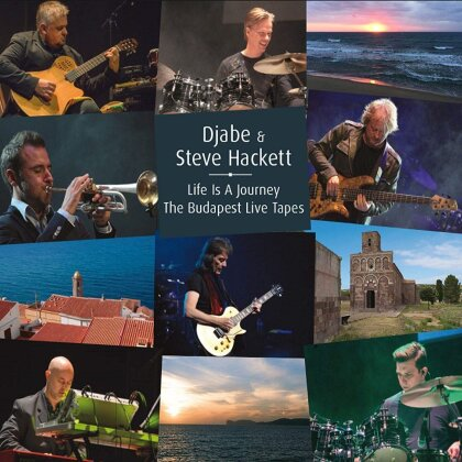 Djabe & Steve Hackett - Life Is A Journey (2 CDs + DVD)