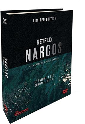 Narcos - Stagione 1 & 2 (Digibook, Limited Edition, 8 DVDs)