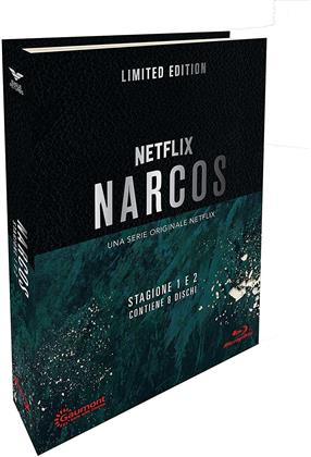 Narcos - Stagione 1 & 2 (Digibook, Limited Edition, 6 Blu-rays)