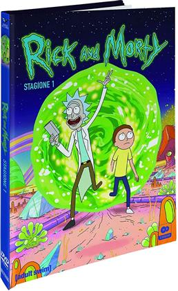 Rick and Morty - Stagione 1 (Collector's Edition, Digibook, Limited Edition, 2 DVDs)
