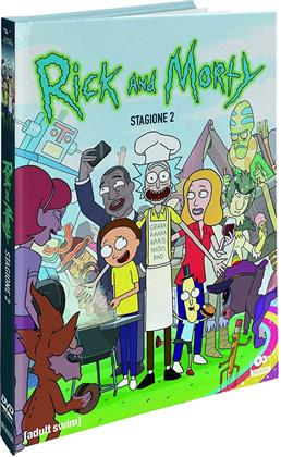 Rick & Morty - Stagione 2 (Collector's Edition, Digibook, 2 DVDs)
