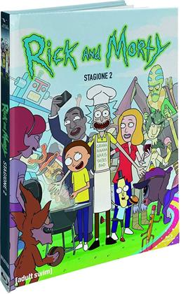 Rick & Morty - Stagione 2 (Collector's Edition, Digibook, Blu-ray + 2 DVDs)
