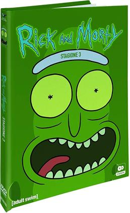 Rick & Morty - Stagione 3 (Collector's Edition, Digibook, 2 DVDs)