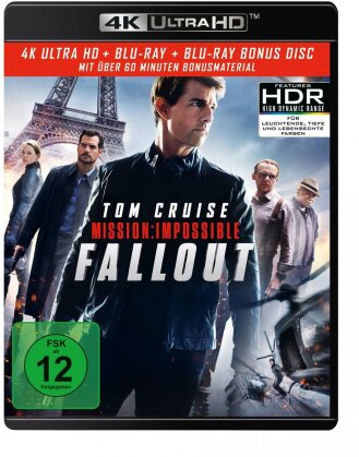 Mission Impossible 6 - Fallout (2018) (4K Ultra HD + Blu-ray)