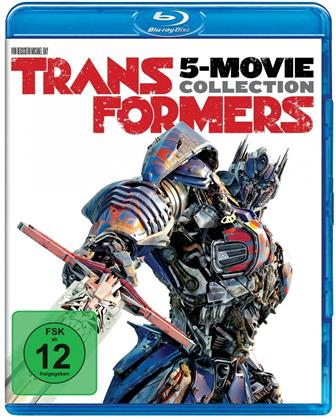 Transformers - 5 Filme Collection (5 Blu-rays)