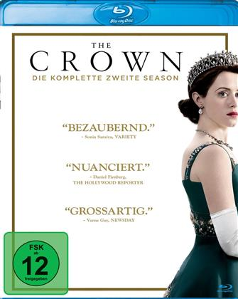 The Crown - Staffel 2 (4 Blu-rays)