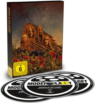 Opeth - Garden of the Titans - Live at Red Rocks Amphitheatre (DVD + 2 CDs)