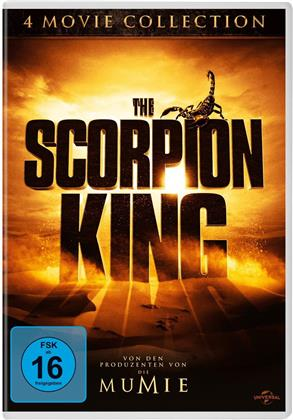 The Scorpion King 1-4 (4 DVDs)