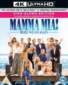 Mamma Mia! 2 - Here We Go Again! (2018) (4K Ultra HD + Blu-ray)
