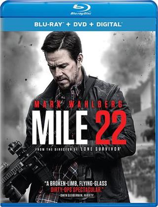 Mile 22 (2018) (Blu-ray + DVD)