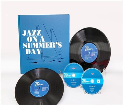 Jazz On A Summer's Day - OST (2018 Release, 2 LPs + DVD + CD)
