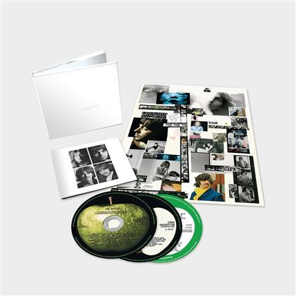 The Beatles - White Album - New Stereo Mix & Demos (50th Anniversary Edition, Deluxe Edition, 3 CDs)