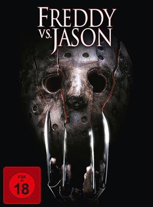 Freddy vs. Jason (2003) (Limited Edition, Mediabook, Uncut, Blu-ray + DVD)