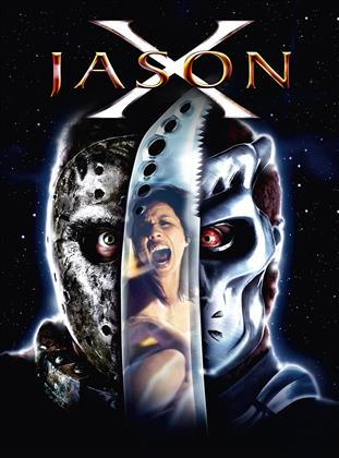 Jason X (2001) (Limited Edition, Mediabook, Uncut, Blu-ray + DVD)