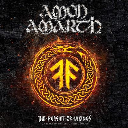 Amon Amarth - The Pursuit of Vikings - 25 Years in the Eye of the Storm (2 DVDs + CD)