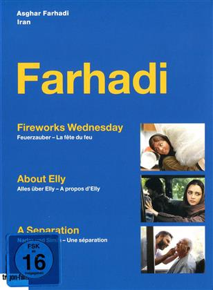 Farhadi - Fireworks Wednesday / About Elly / A Separation (3 DVDs)