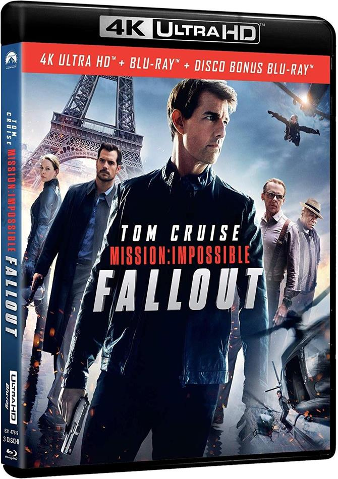 Mission Impossible 6 - Fallout (2018) (4K Ultra HD + 2 Blu-rays)