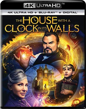 The House with a Clock in its Walls (2018) (4K Ultra HD + Blu-ray)