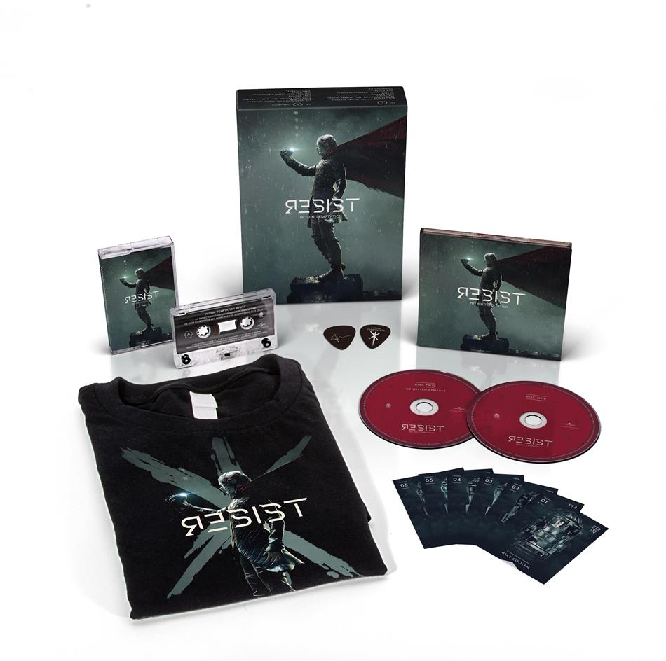 Within Temptation - Resist - + T-Shirt XL (Limited Fanbox, 2 CDs + Audiokassette)