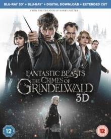 Fantastic Beasts 2 - The Crimes Of Grindelwald (2018) (Blu-ray 3D + Blu-ray)