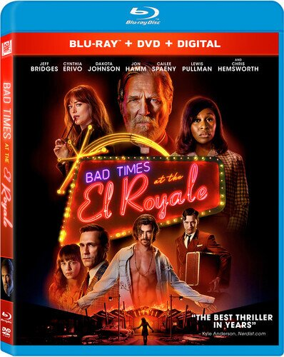 Bad Times At The El Royale (2018) (Blu-ray + DVD)