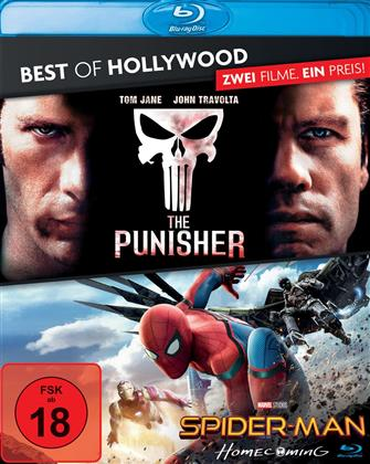 Spider-Man: Homecoming / The Punisher (Best of Hollywood, 2 Blu-rays)