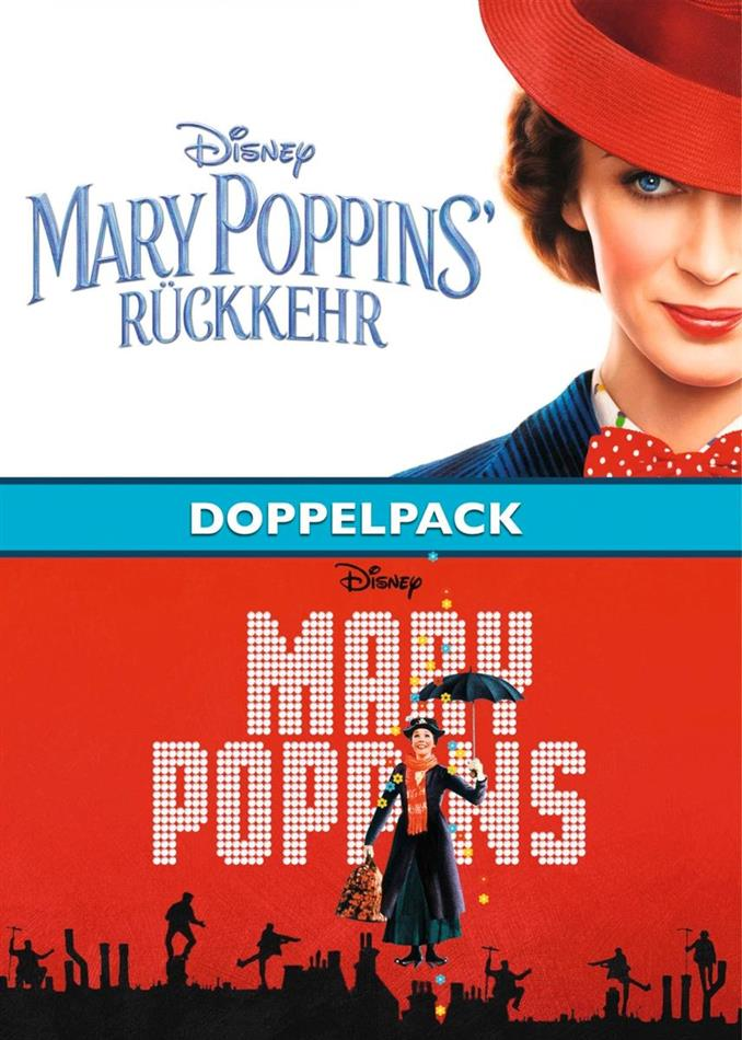 Mary Poppins' Rückkehr & Mary Poppins - Doppelpack (2 DVDs)
