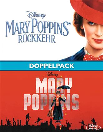 Mary Poppins' Rückkehr & Mary Poppins - Doppelpack (2 Blu-rays)