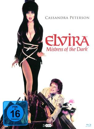 Elvira - Mistress of the Dark (1988) (Digipack, 2 Blu-rays + DVD)