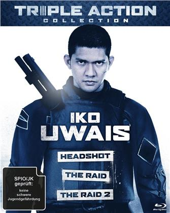 Iko Uwais Triple Action Collection - The Raid / The Raid 2 / Headshot (3 Blu-rays)