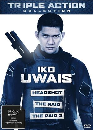 Iko Uwais Triple Action Collection - The Raid / The Raid 2 / Headshot (3 DVDs)